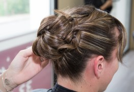 Pro tips for simple hair up-dos