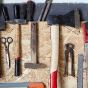 Simple DIY tricks for organizing your garage
