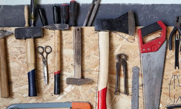 Simple DIY tricks for organizing your garage