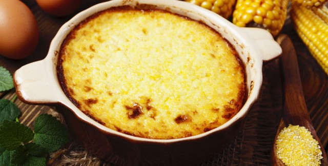 A Southern staple: Baked cheddar grits