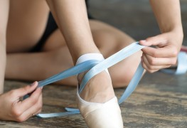 Finding the perfect ballet slippers