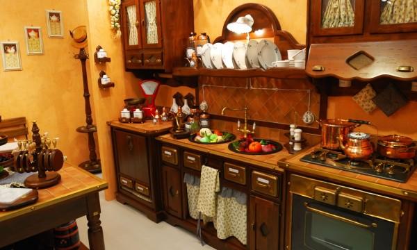 The olden day kitchen