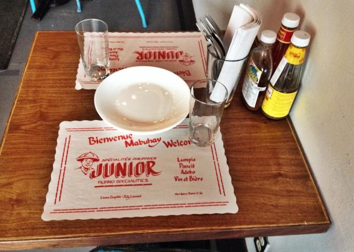 Junior - Filipino restaurant, Filipino cuisine, the Philippines, Manila, restaurant, Jeepney beer, banana sauce, eggs, pork, rice