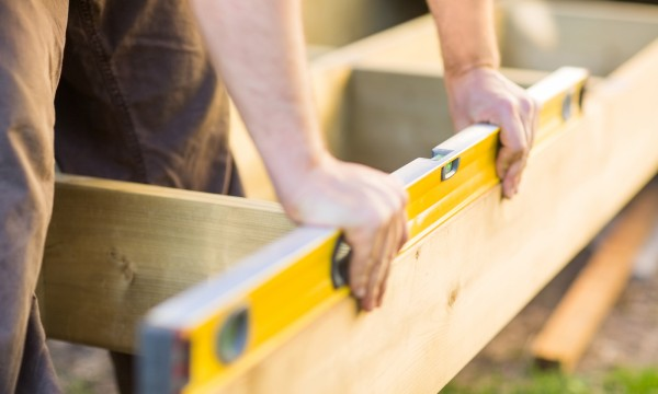 How to build a wooden patio