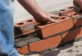Assess secondhand bricks and roofing material