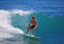 Learn the basics of surfing in 7 quick steps