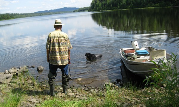 Sage advice to row a boat or cast a fishing line