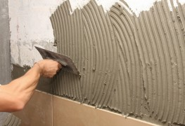 Learn to mix mortar and make wall slipforms