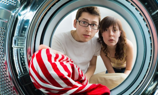 Fixing a smelly washing machine
