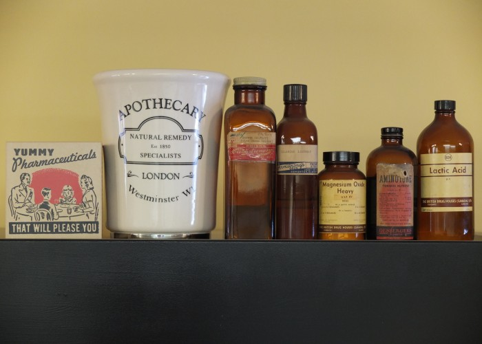 Midtown Apothecary acts as both a pharmacy and an old-fashioned ice cream shop and candy store