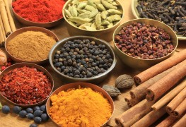 Herbs and spices to help you prepare dishes from around the world