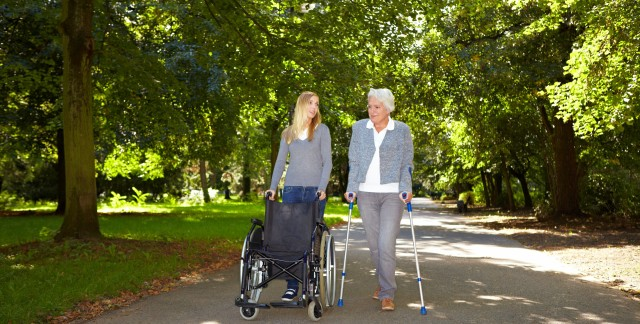 Expert advice on sprains, strains and crutches