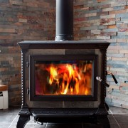 How to heat your home with a wood burning stove