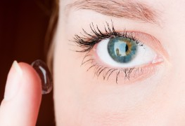 The mystery of the contact lens that broke in the eye