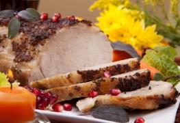 Soy-marinated pork tenderloin