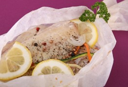 Learn to prepare heart healthy sole en papillote