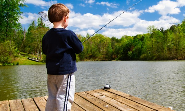 Five lessons kids learn from fishing