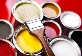 Home decor tips for using leftover paint