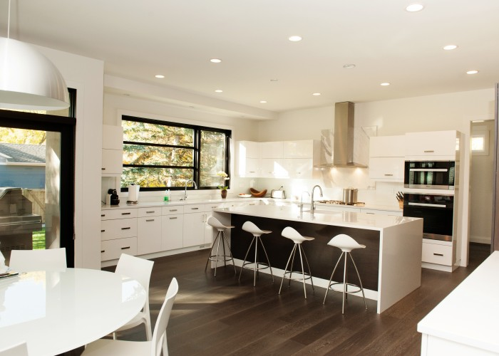 Ackard Contractors can do new home designs and construction, as well as remodels and redesigns