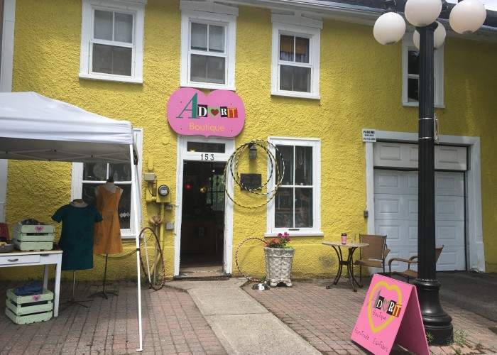 Adorit Boutique in ByWard Market sells sustainable and ethically made merchandise that is fashionable and fun.
