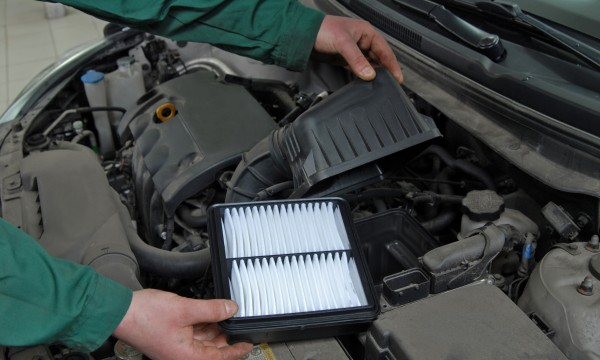 Why regularly changing your car's air filter protects you