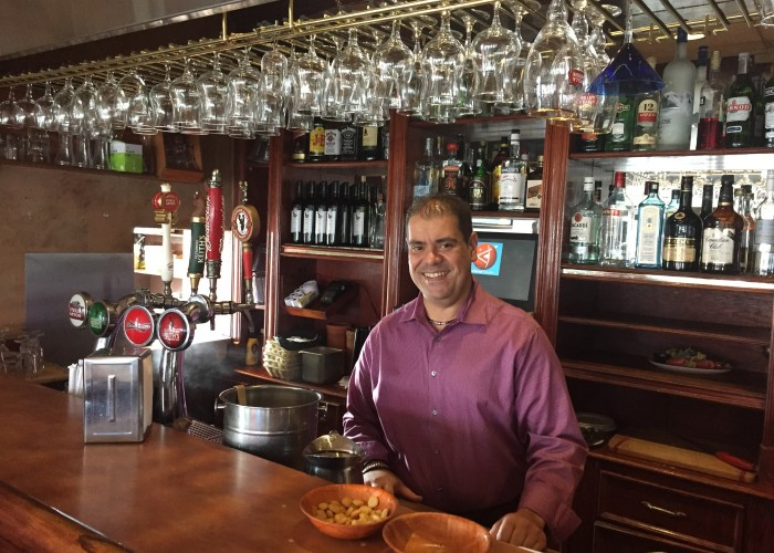 Rui Goncalves is the owner of Amadeu's Restaurant.