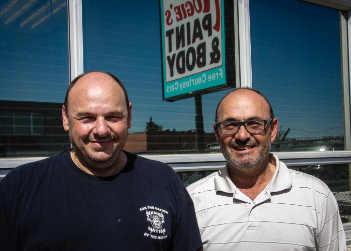 Augie's Paint & Body is owned and operated by brothers Joe and Nick Nocita.