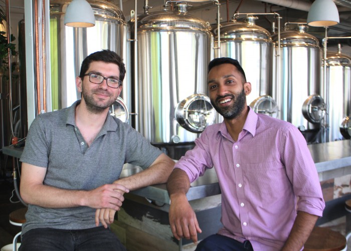 Stephane Dubois first met Shehzad Hamza through a mutual friend and instantly bonded through their mutual love for brewed beer.