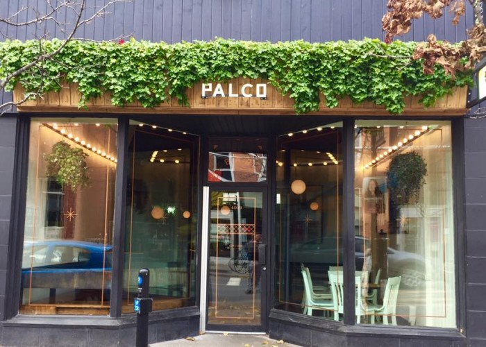 Palco is an Italian word for a service space or balcony.