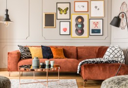 How to create a wall of frames