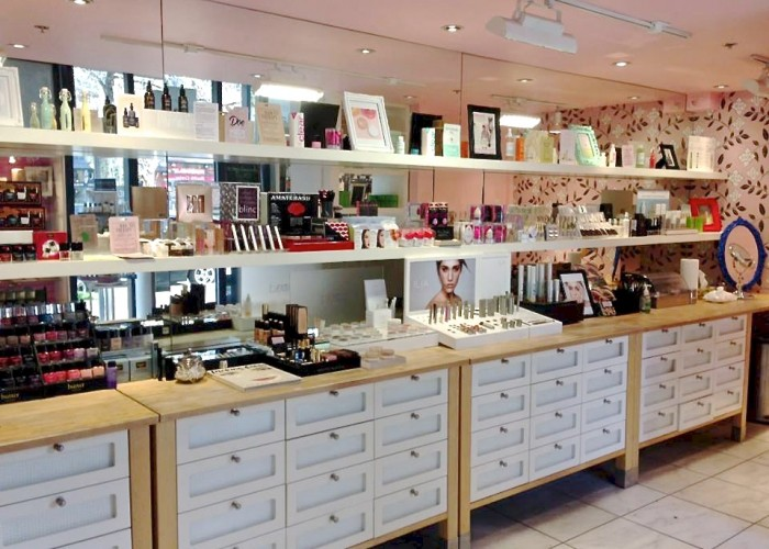 Yaletown's Beauty Mark boutique carries high end beauty products from around the world.