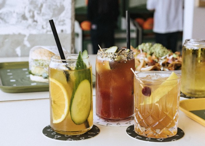 Bells and Whistles serves cocktails with a twist – try the Pimm's Cup, Steakhouse Caesar or Hop Fashioned.