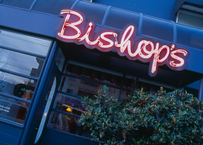 Bishop's on West 4th has been a Vancouver dining institution since 1985.