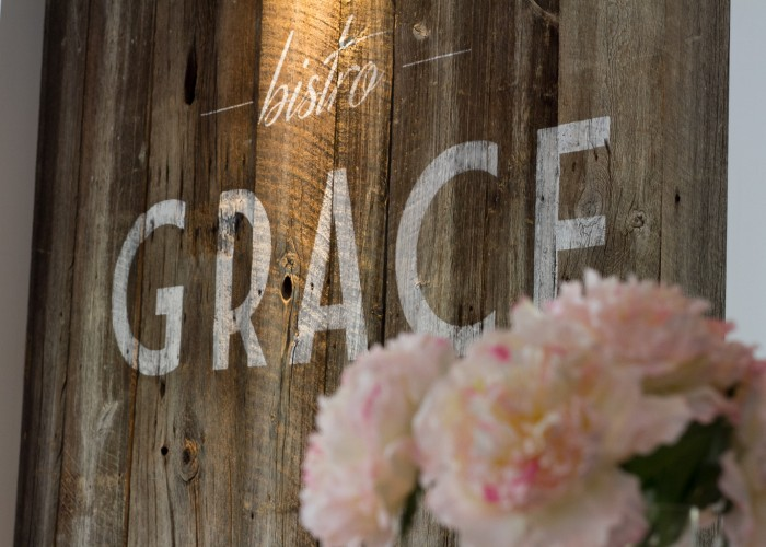 Bistro Grace is named after the owner's daughter.