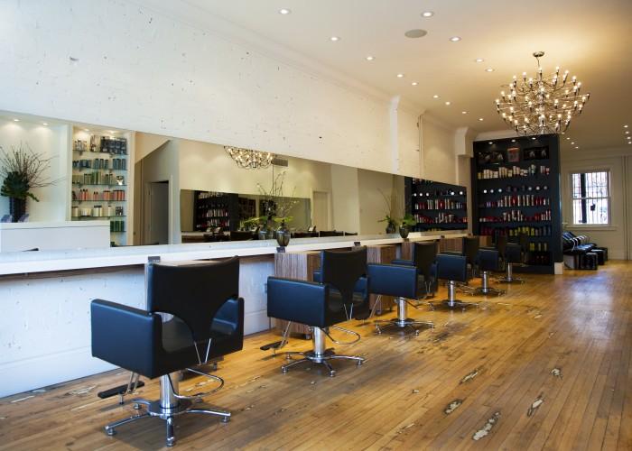 bob + paige salon, Toronto, haircut, Danforth