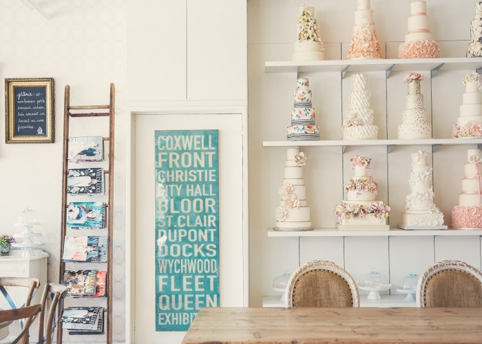 Country chic decor and a homey feel makes Bobbette & Belle a sought after place for coffee and dessert.