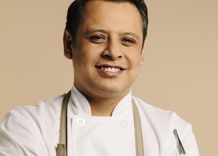 Botanist's executive chef Hector Laguna.