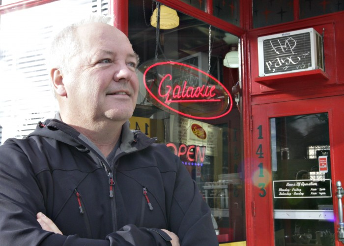 Galaxie Diner is a cozy, intimate spot to grab a delicious breakfast