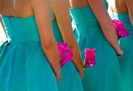 6 universally flattering bridesmaid colours