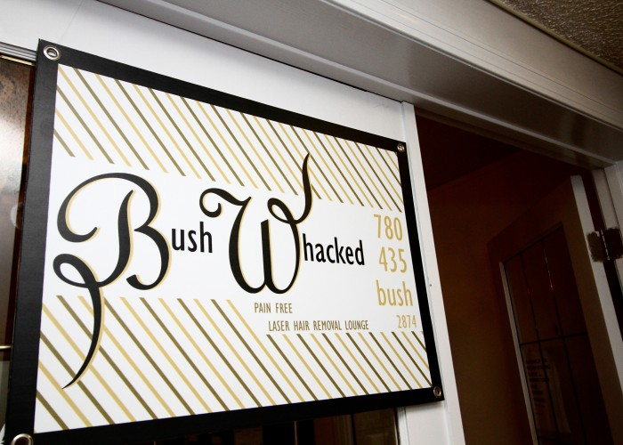 Bush Whacked Laser is located in the historic Old Strathcona district, on Whyte Avenue