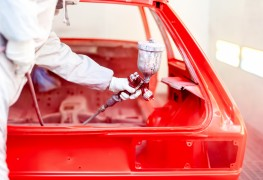 What to look for in an auto body painter