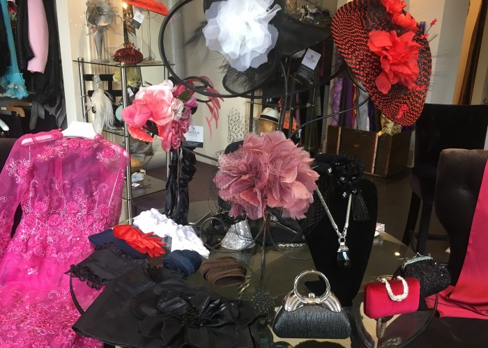 At Chapeaux de Madeleine, her hats are like pieces of art.