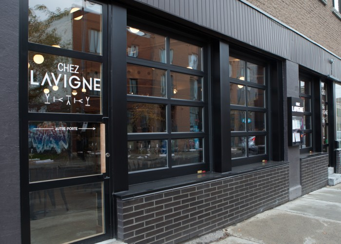 Chez Lavigne is also the second homeof its proud owners Eric Bernard and Catherine Tremblay.