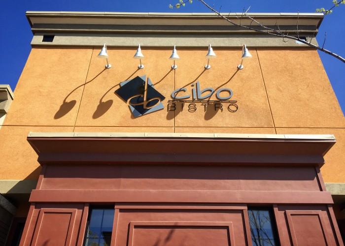 Cibo Bistro is located downtown in Oliver Square