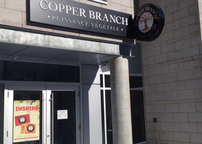 Copper Branch - Plant-based, vegan, gluten-free, vegetarian, organic, fast food, power food, responsible living
