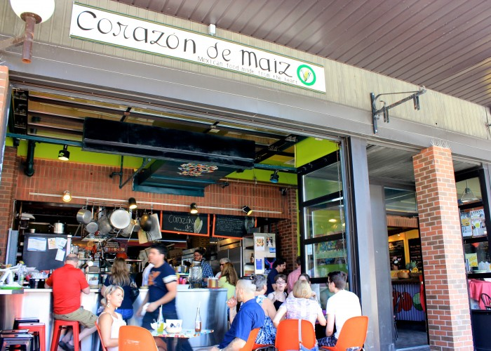 Corazon de Maiz is located in Ottawa's bustling ByWard Market.