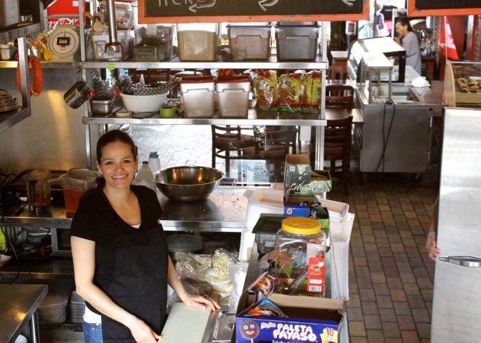 Corazon de Maiz co-owner Mariana Torio cooks authentic recipes from her native Mexico.