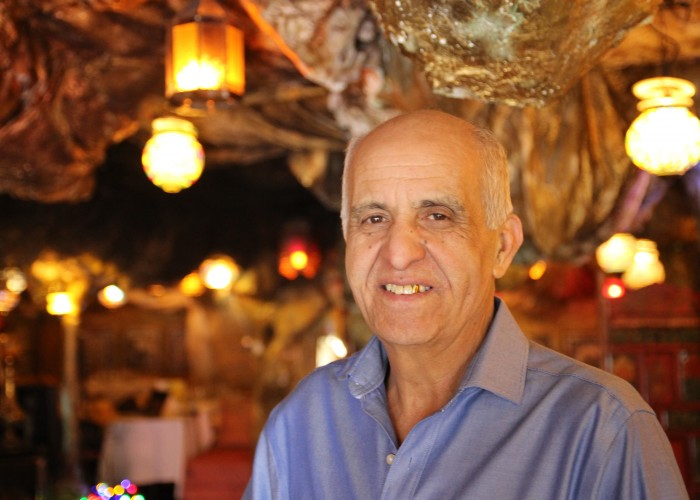Béchir Bhire Benkalifa, owner of Couscoussière d'Ali Baba,compares dining to theatre.