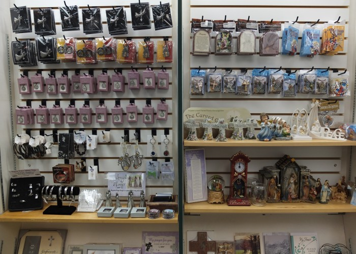 The Bookstore on Perron Street sells everything from children's books to engineering manuals, plus cards, toys and decor