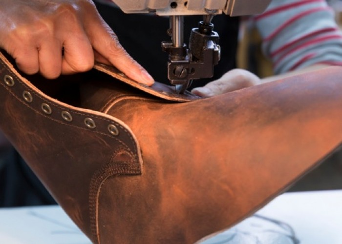 Each pair of Dayton Boots is handcrafted in East Vancouver.